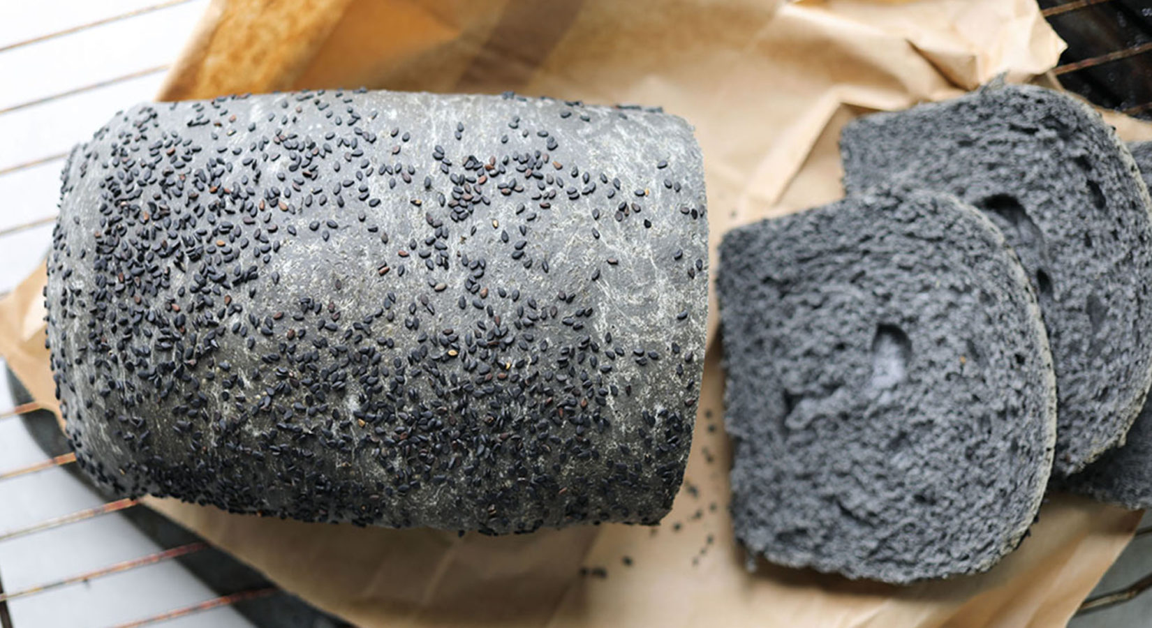 Charcoal Toast Bread