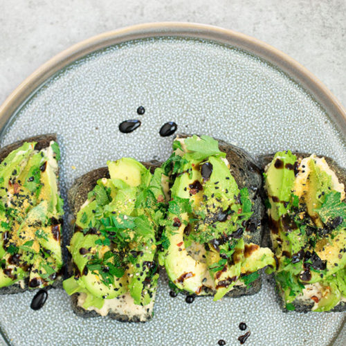 Avocado Hummus Toast